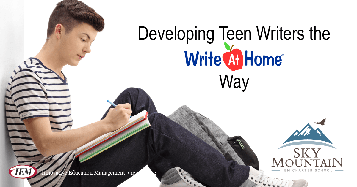 Developing Teen Writers the WriteAtHome Way