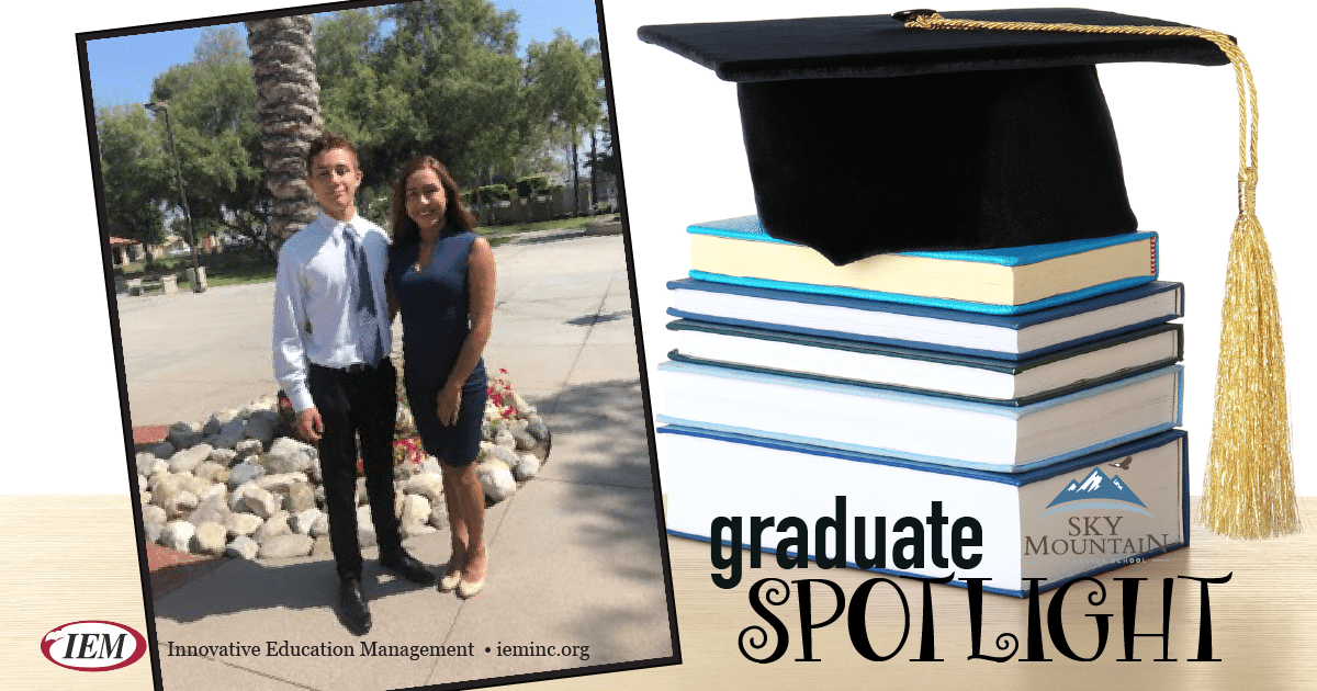 Graduate Spotlight: Nicholas and Miriam G.