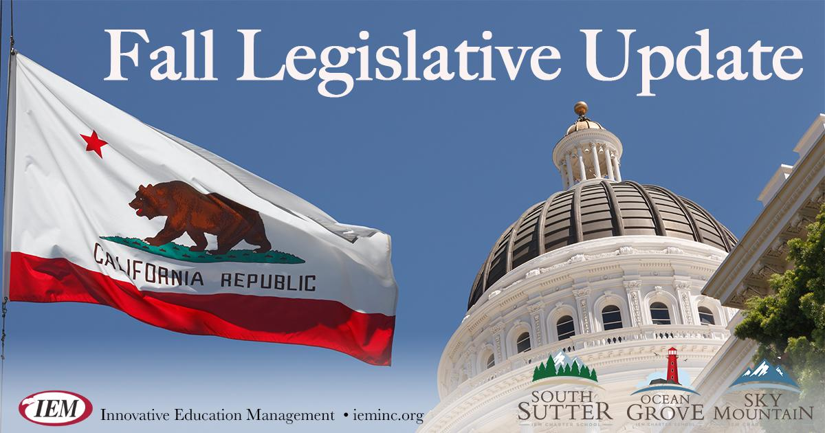 Fall Legislative Update