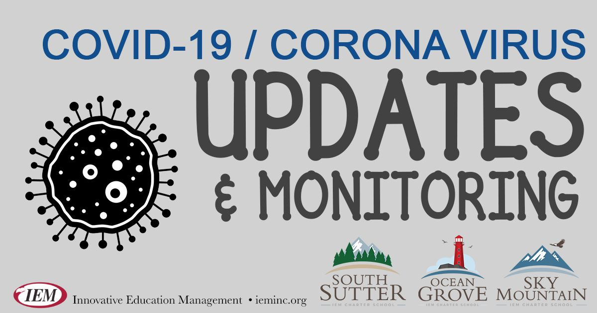COVID-19: Updates & Monitoring