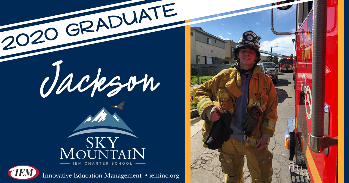Graduate Spotlight: Jackson B.