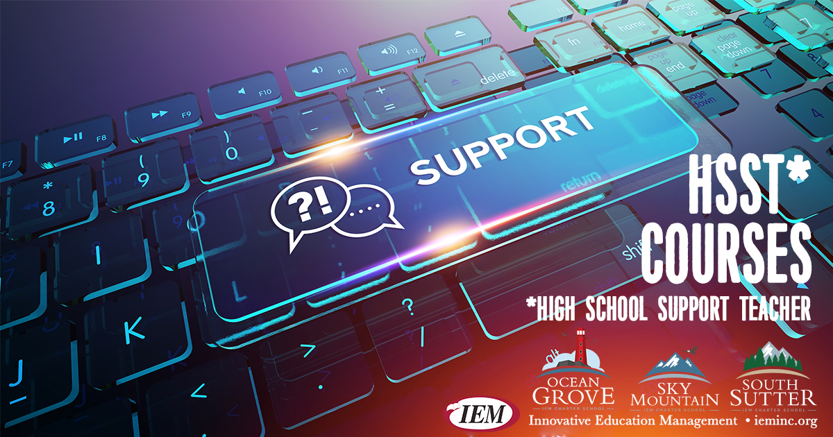 High School Support Teacher (HSST) Catalog