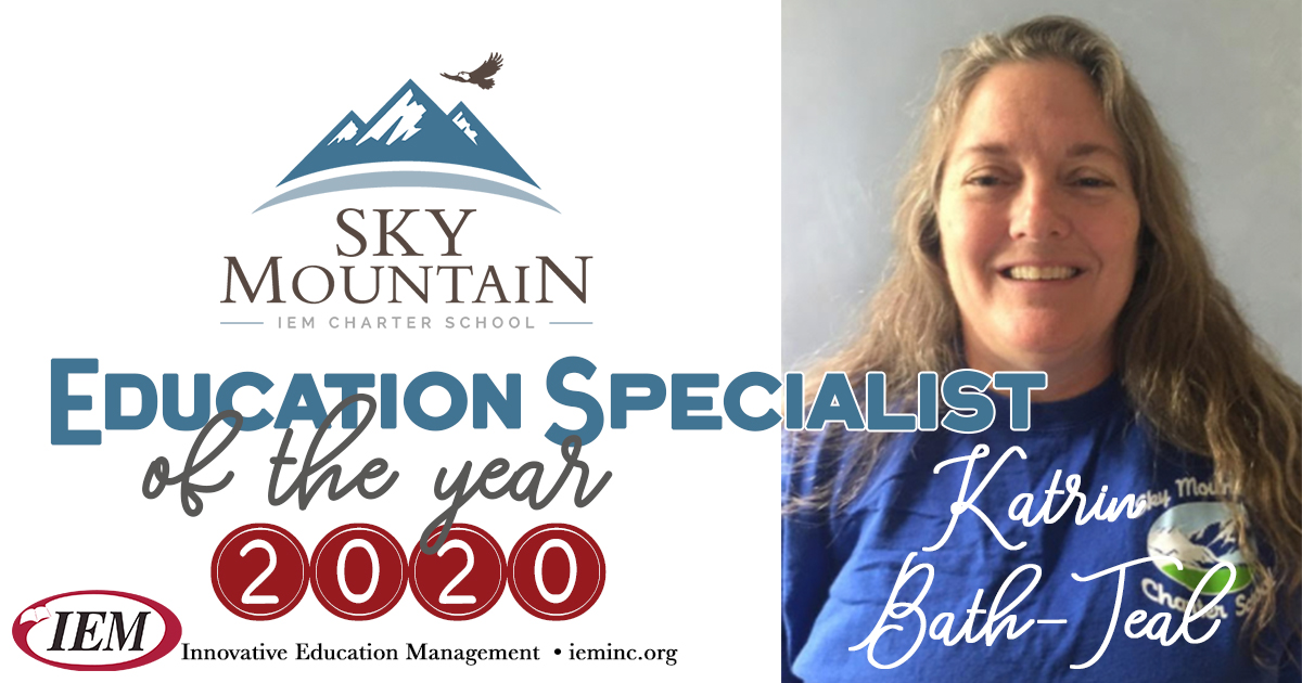 Education Specialist of the Year 2020: Katrin Bath-Teal
