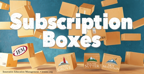 Subscriptions and Subscription Boxes
