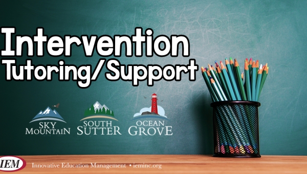 Intervention - Tutoring Options