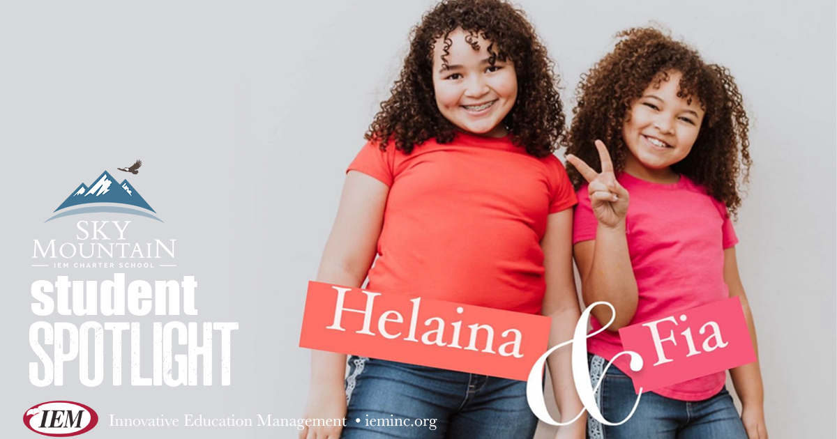 Student Spotlight: Helaina and Fia C.