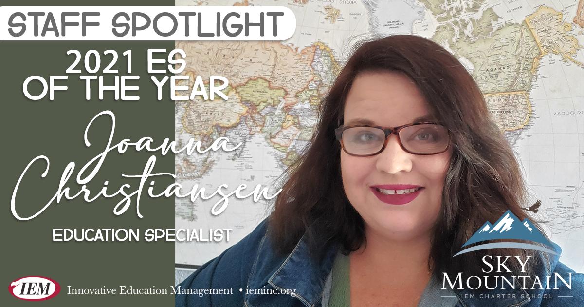 Staff Spotlight: Joanna Christiansen