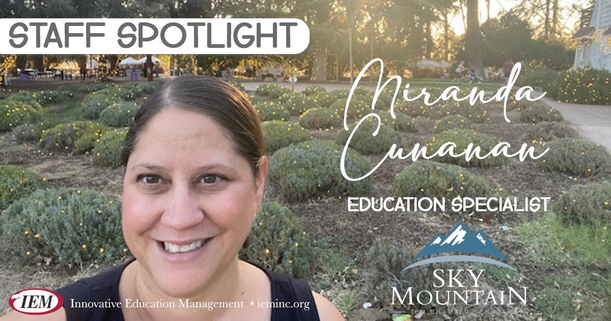 Staff Spotlight: Miranda Cunanan