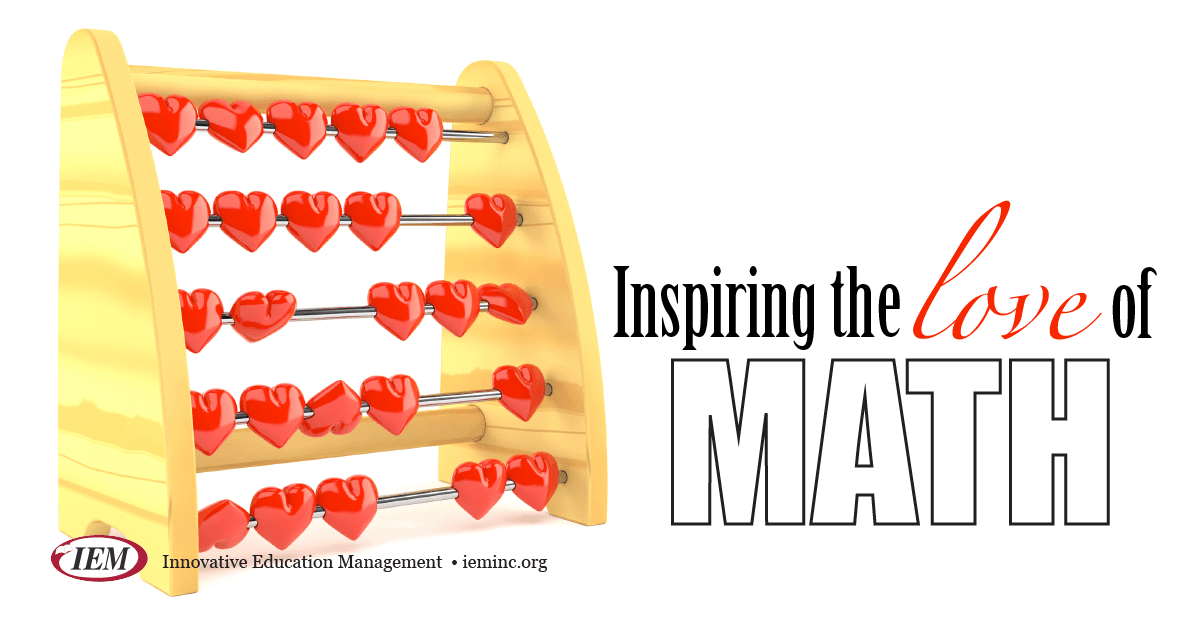 "How do you Inspire the Love of Math?…...Parent webinar ""Inspiring the love of math"""