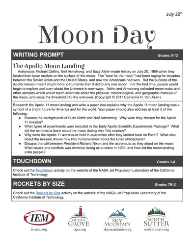 Moon Day (7/20)