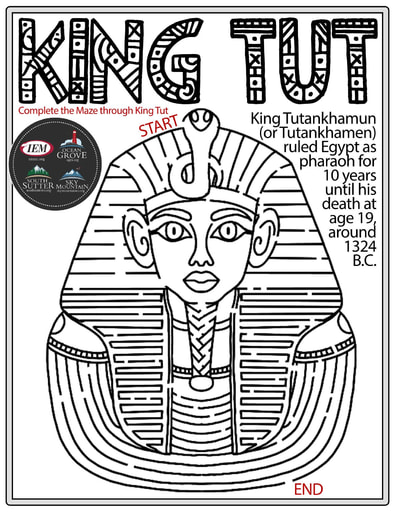 King Tut Maze Version